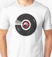 Vinyl record in a modern flat style design Unisex T-Shirt