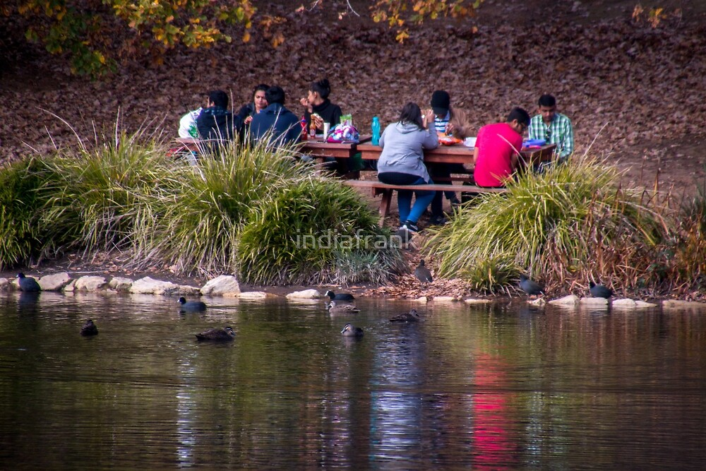 Picnic by the lake by indiafrank