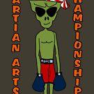 Martian Arts Champion by JettKredo