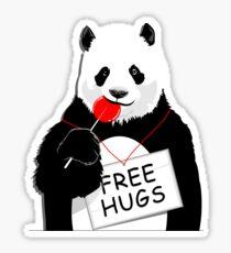 Cool Panda Design Sticker