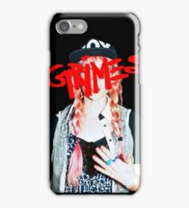 Grimes logo red iPhone Case/Skin