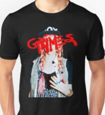 Grimes logo red Unisex T-Shirt