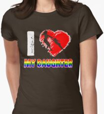 I Love my Daughter LGBT, Gay, Lesbian Pride day Mother T-Shirt T-Shirt