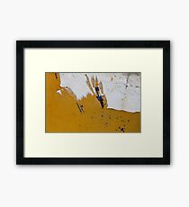 paper beach Framed Print