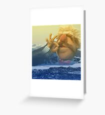 Swedish Chef Amongst the Foothills Greeting Card