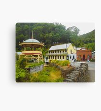 Walhalla old Gold Town Canvas Print