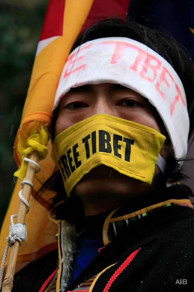 Protest by AliB