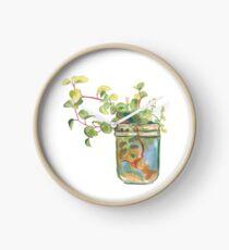 Jar Plant Clock