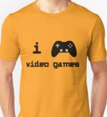 I Play Video Games For Gamers Who Love Video Games Unisex T-Shirt