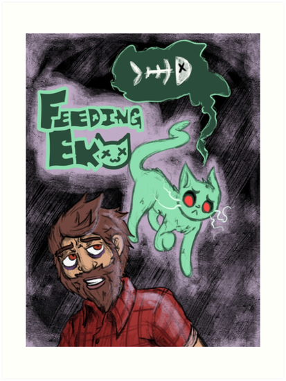 Feeding Eko by ghostyce