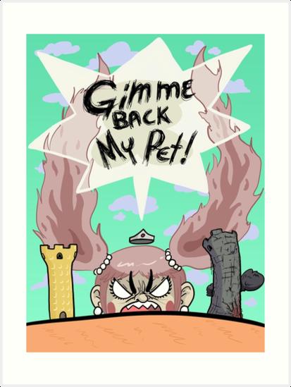 Gimme Back My Pet! by ghostyce