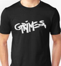 Grimes logo white Unisex T-Shirt
