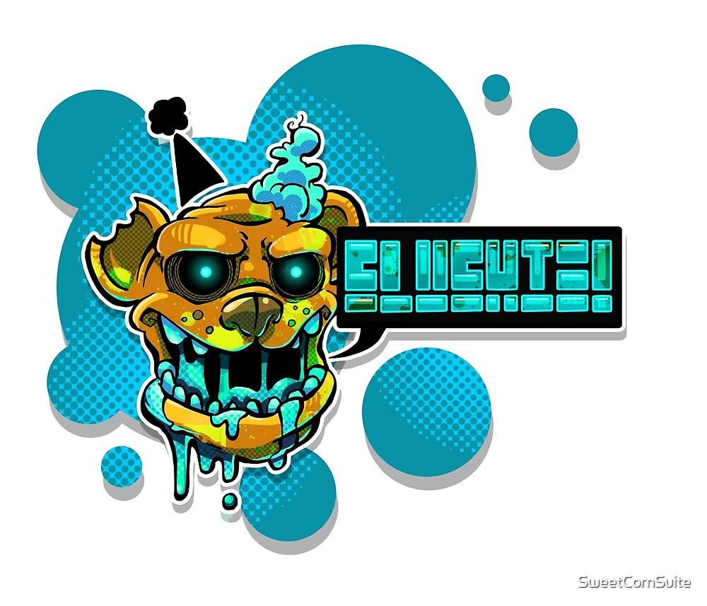 Slushie Bear - Blue by SweetCornSuite