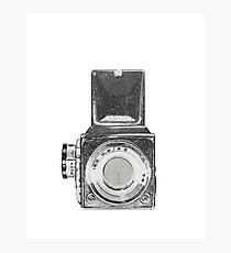 Vintage 6x6 Camera Photographic Print