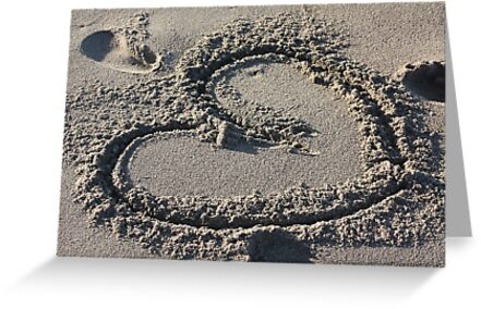 Heart in the Sand by Gravityx9