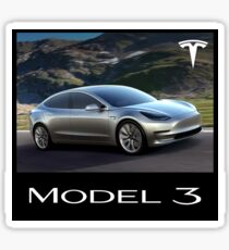 Tesla - Model 3 Sticker