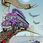 Dead Company 2017 Summer Tour Posters June 25th 2017 BB&T pavillion Camden ND by mungkinkah