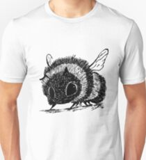 Bumblebee Lovely Ink Design Animal Love Unisex T-Shirt