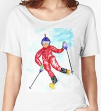 Skier Sport Women's Relaxed Fit T-Shirt