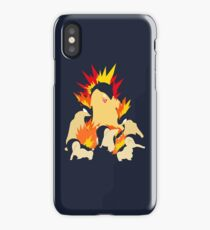 Cyndaquil - Quilava - Typhlosion iPhone Case