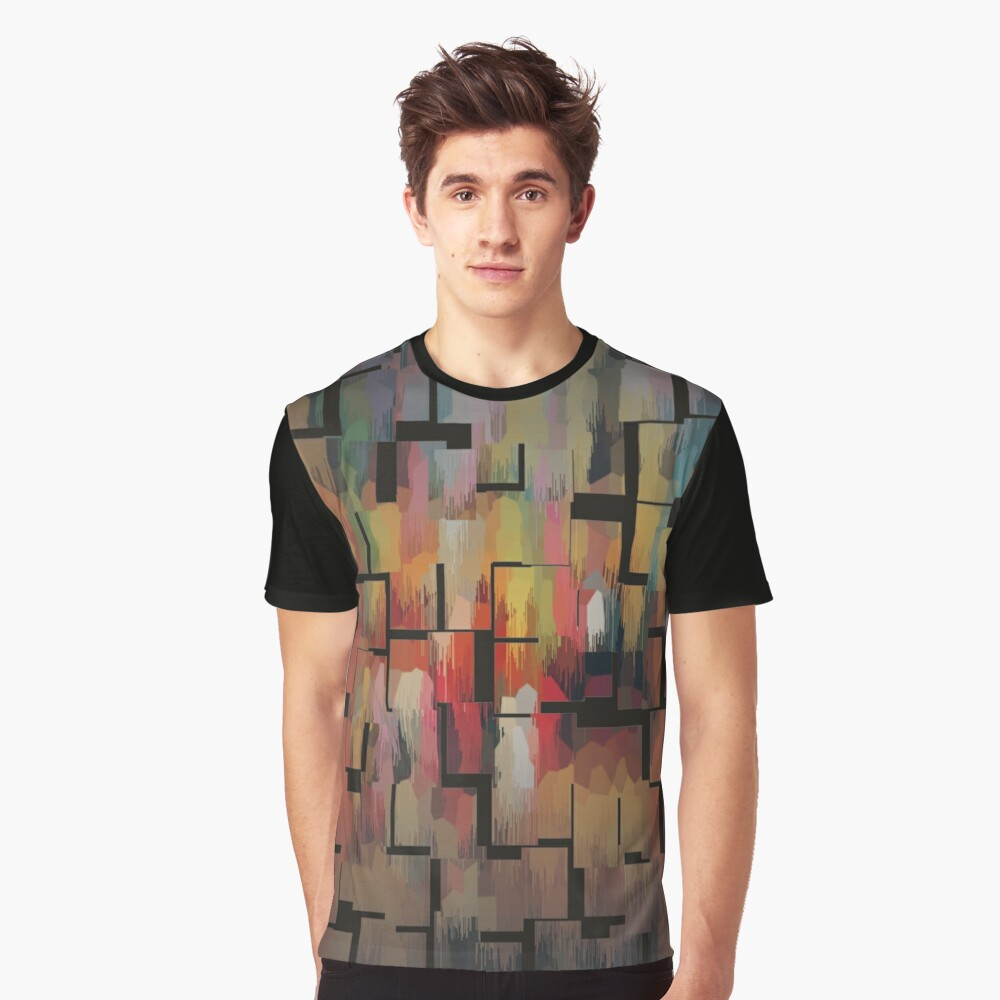 Disintegrated Graphic T-Shirt Front