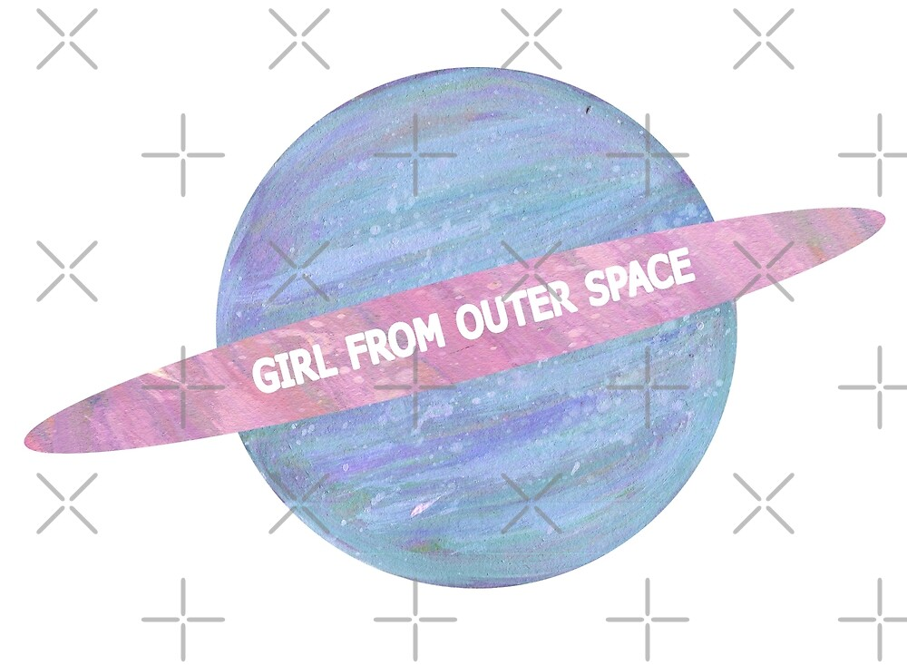 GIRL FROM OUTER SPACE by Lyle O'Mara