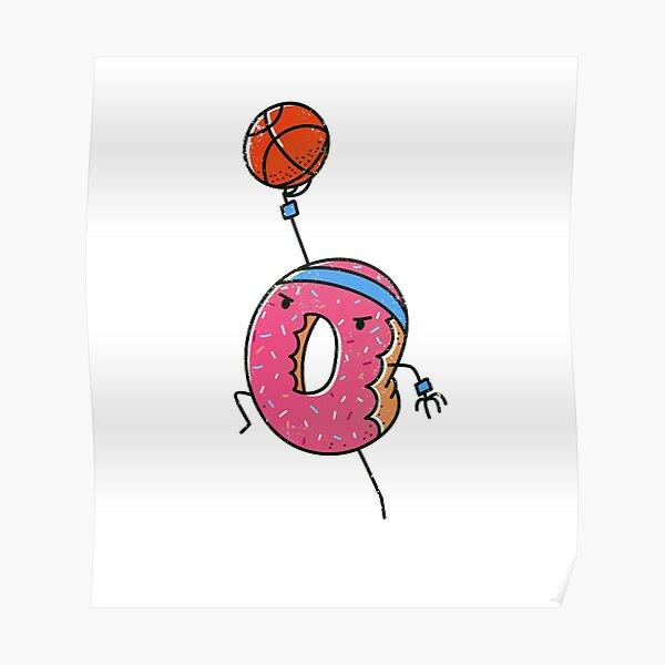 Dunking Donut Poster