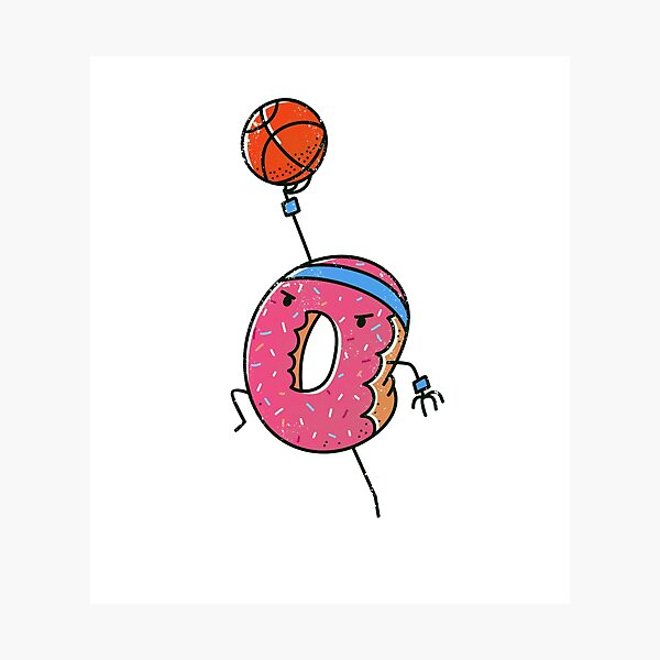 Dunking Donut Photographic Print