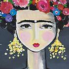 Frida Kahlo by Melanie Gehrke
