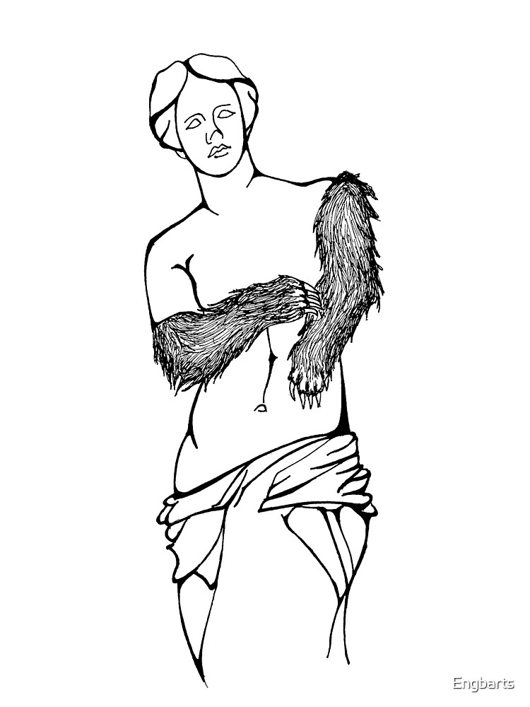 Right to Bear Venus de Milo Arms by Engbarts