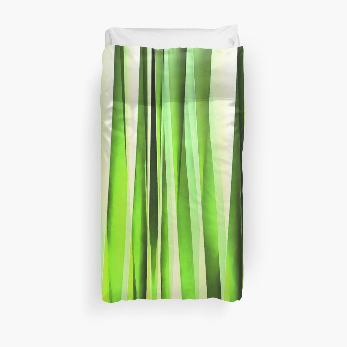 Eternal Evergreen Stripy Pattern by taiche