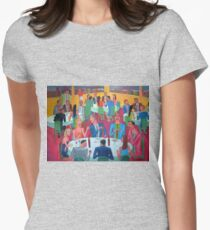 Reunion social 7 Womens Fitted T-Shirt