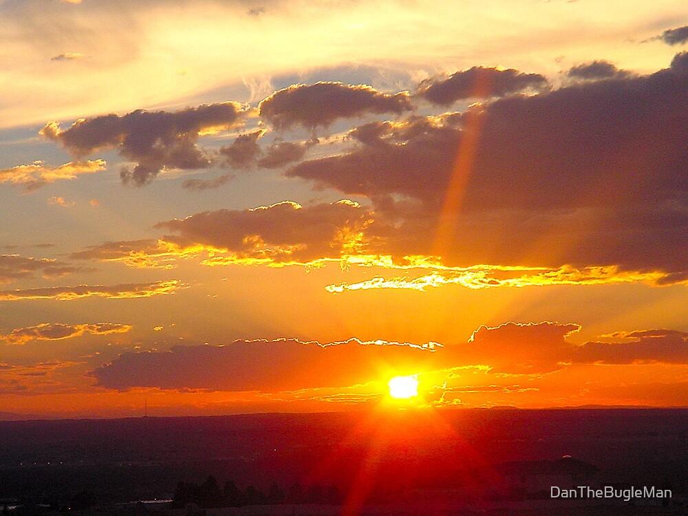 Acoma Sunrise by DanTheBugleMan
