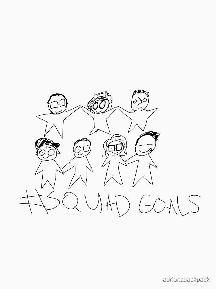 squad goals by adriansbackpack