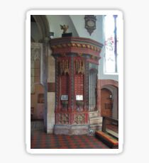 Preaching Gallery Stair Tower Sticker