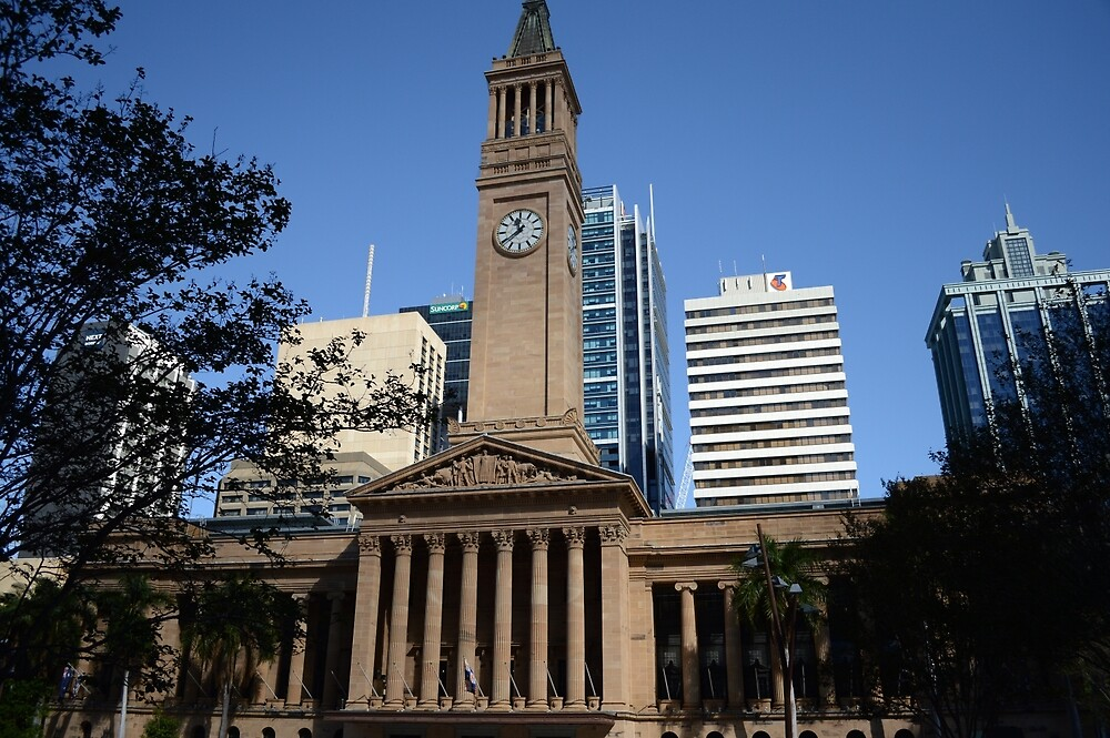 Brisbane City Hall by Kerry LeBoutillier