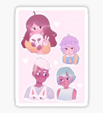 bee and puppycat Sticker