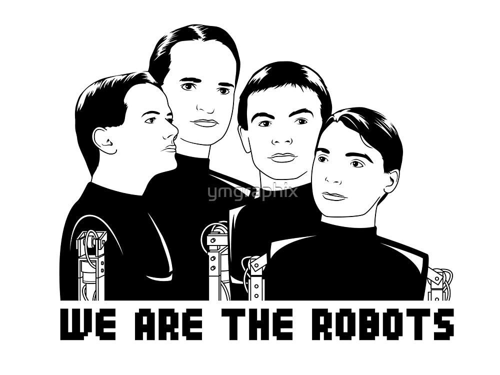 Kraftwerk : We Are The Robots by ymgraphix