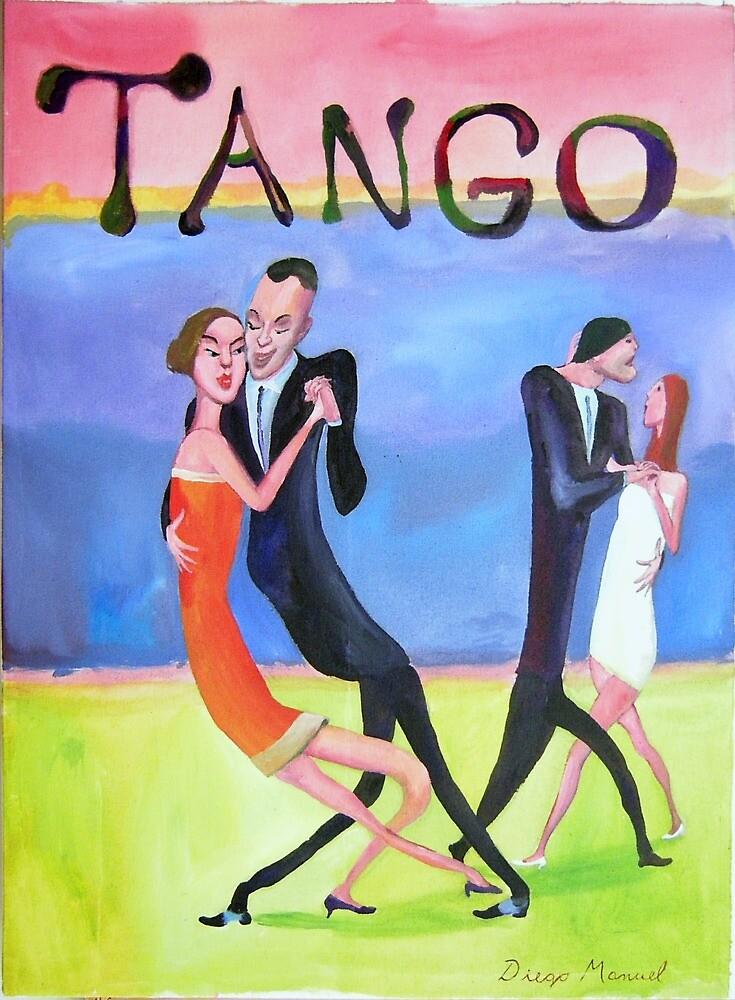 Luxury tango by Diego Manuel Rodriguez
