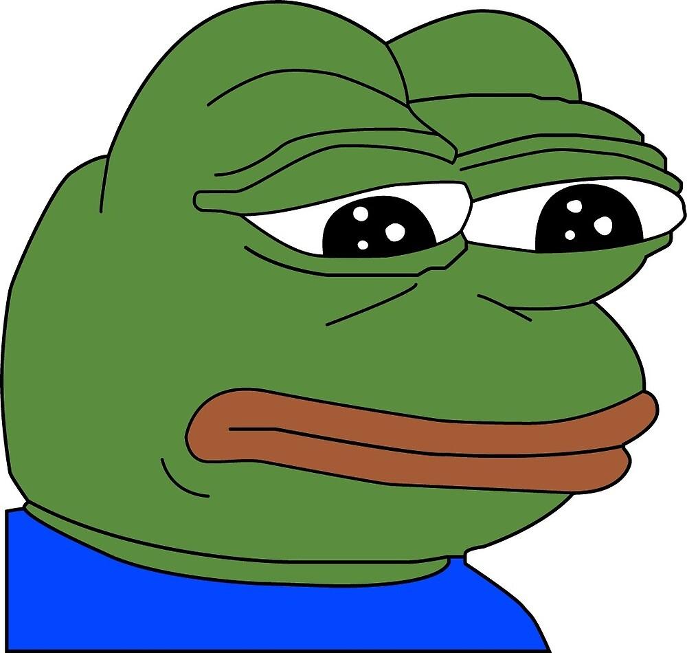 Sad Pepe by daandegizjaar