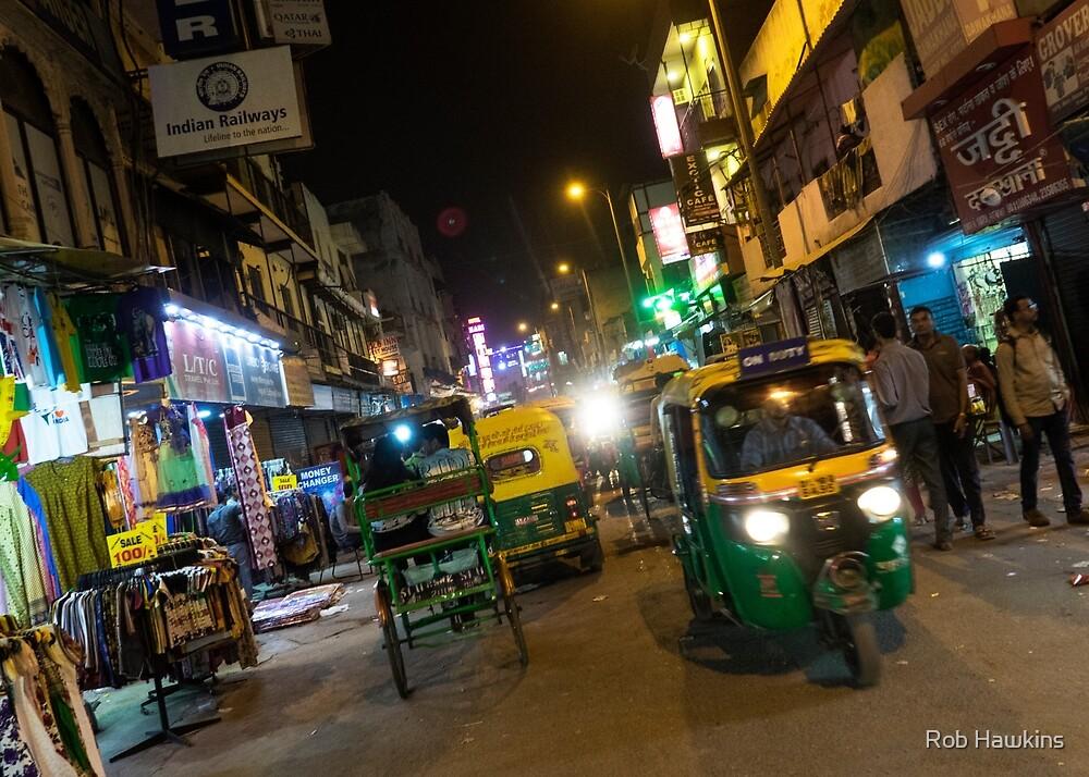 Delhi Nights  by Rob Hawkins