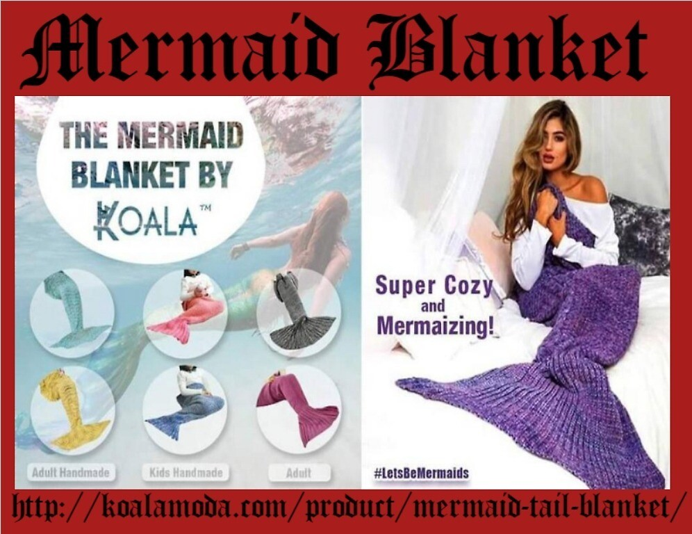 Choose Stylish Mermaid Blanket For Gift  by jessicasmith03