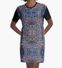indian tribal ornament Graphic T-Shirt Dress