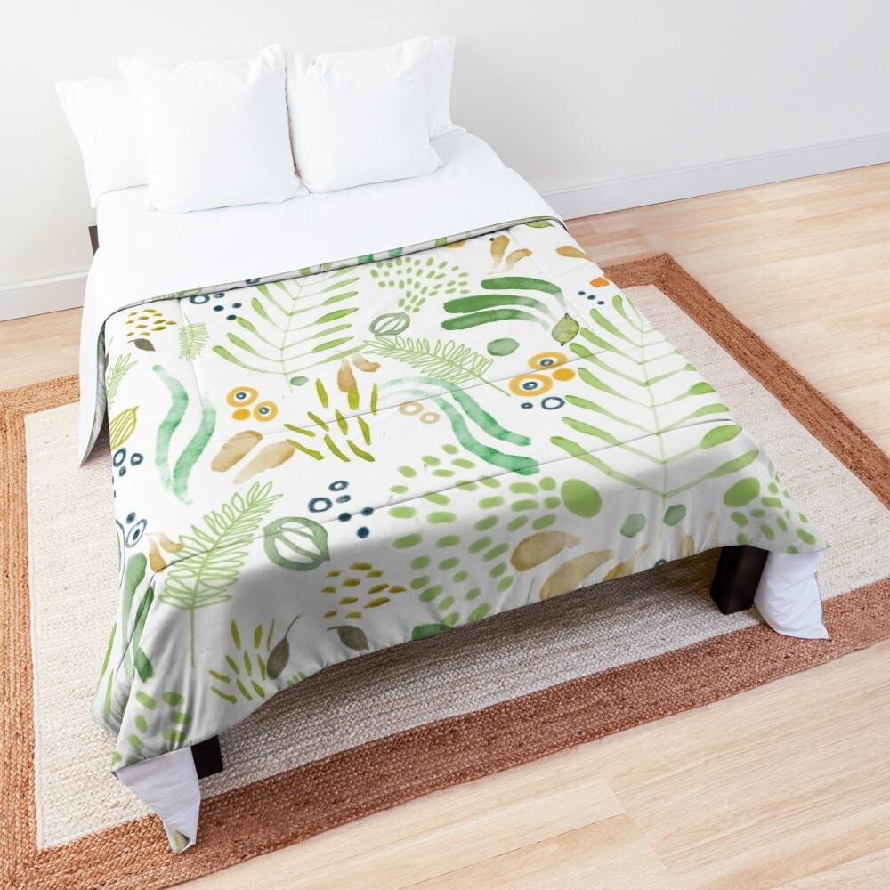 lovely green Comforter