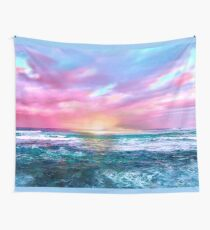 Sunset Sea Wall Tapestry