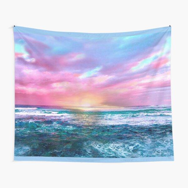 Sunset Sea Tapestry