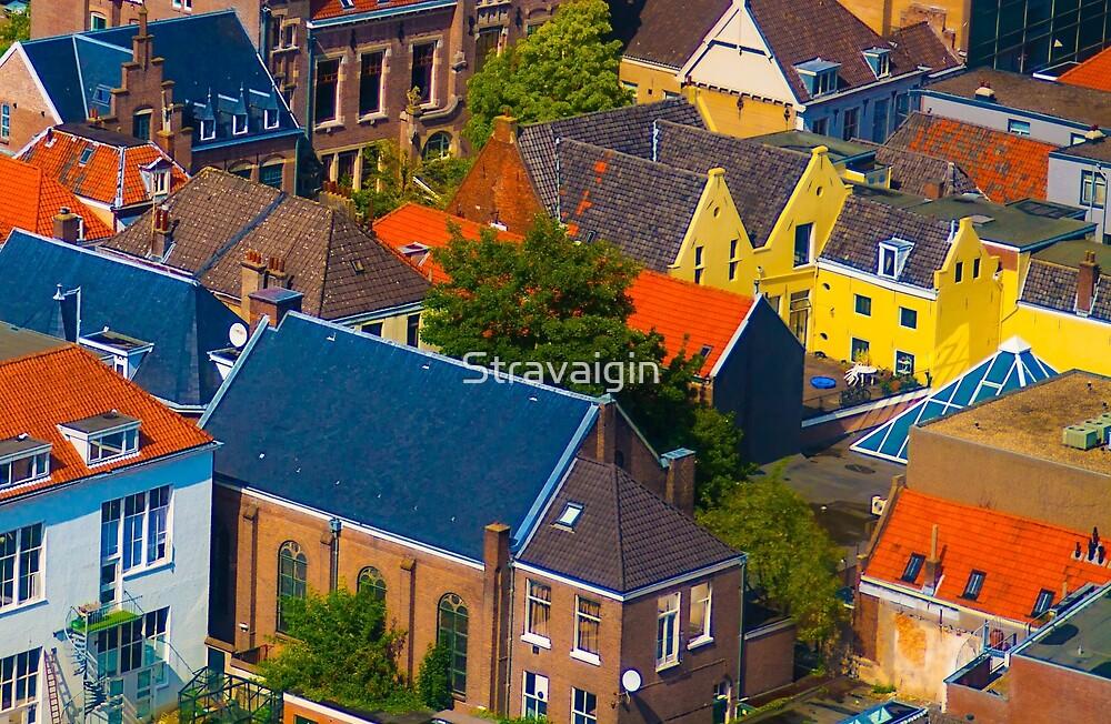 Arnhem Roofs , close up by Stravaigin