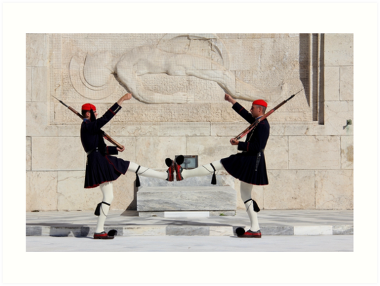 Guards in Athens by PhotosbyRhea