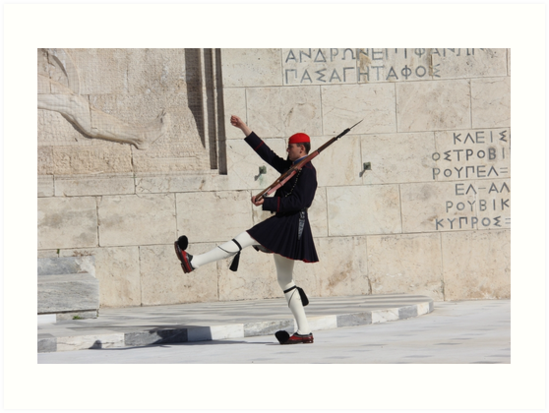 Guard #2 in Athens by PhotosbyRhea