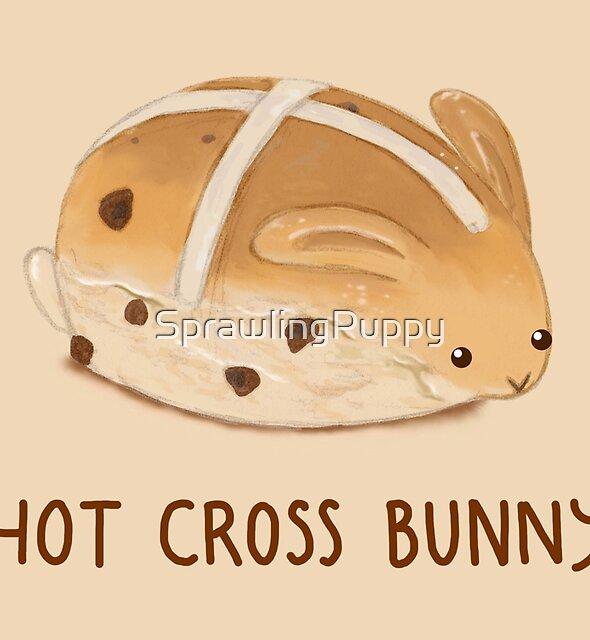 Hot Cross Bunny by SprawlingPuppy